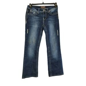 Cowgirl Up jeans Bootcut Blue Pants EUC